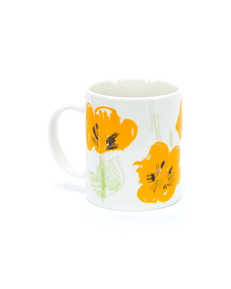 Yellow flower seen from namsan parle Mug