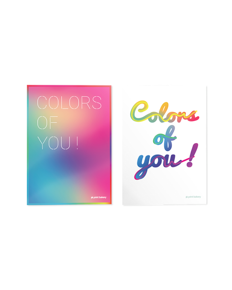 COLORS OF YOU! Poster