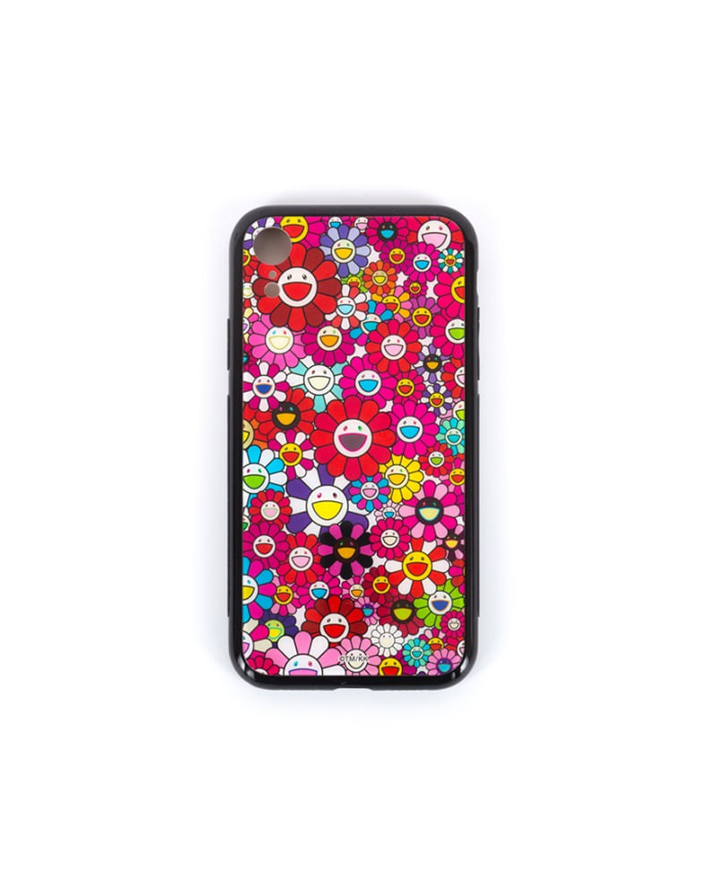 Flower hard case - Red