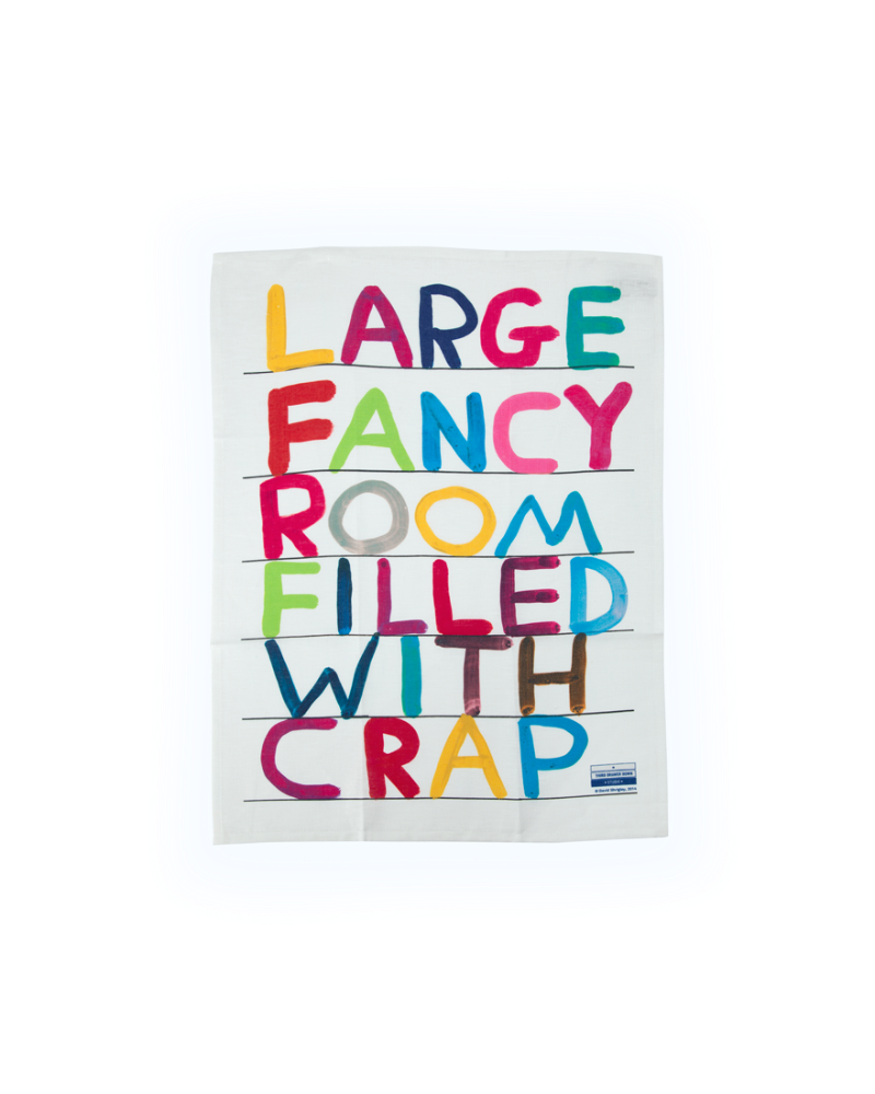 Fancy Room Tea Towel