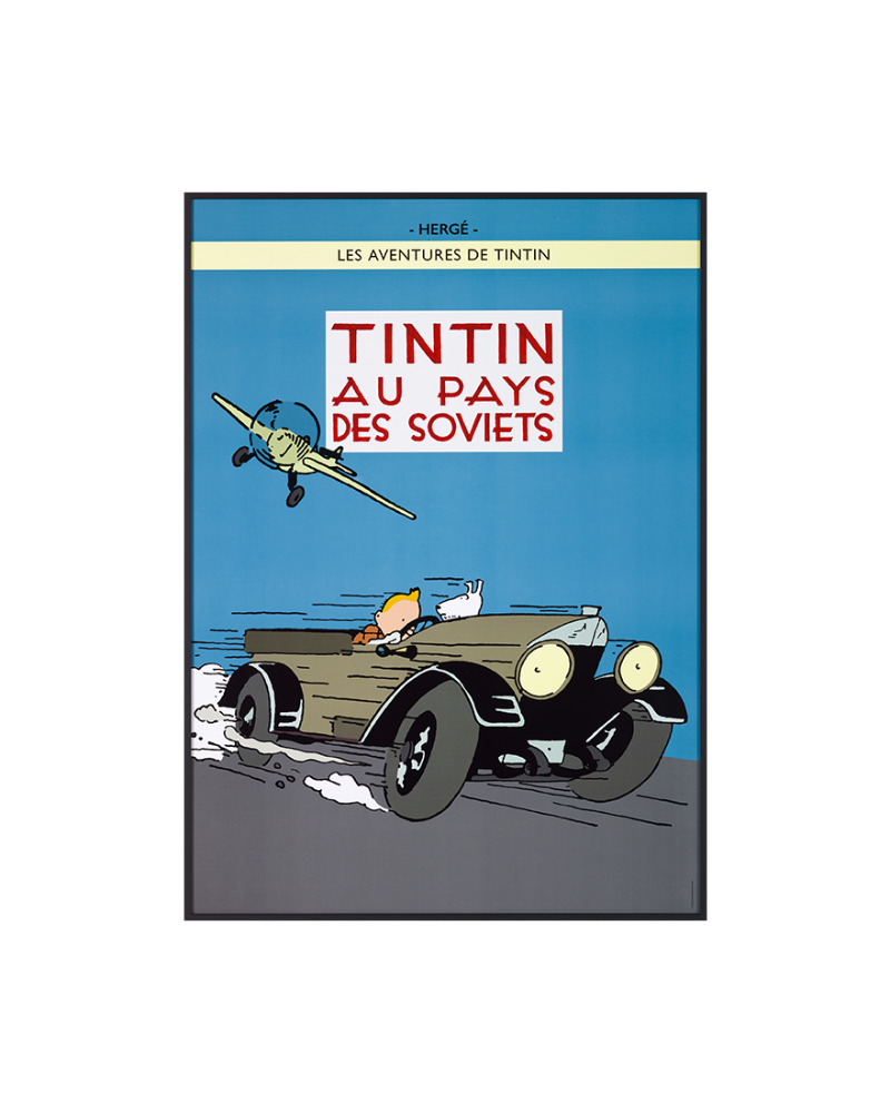 Au pays des Soviets Color Edition Cover