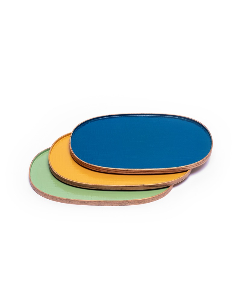 Oval tray - M