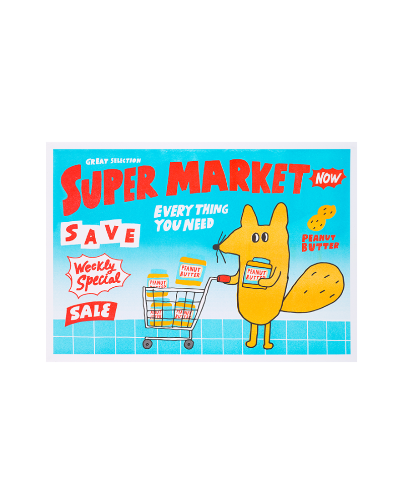 ART POSTER - SUPER MARKET