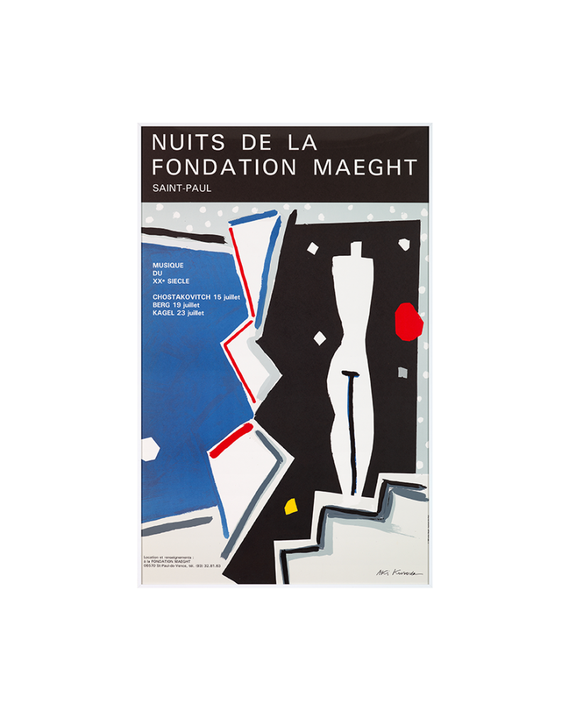 Nuit de la Fondation Maeght 1985