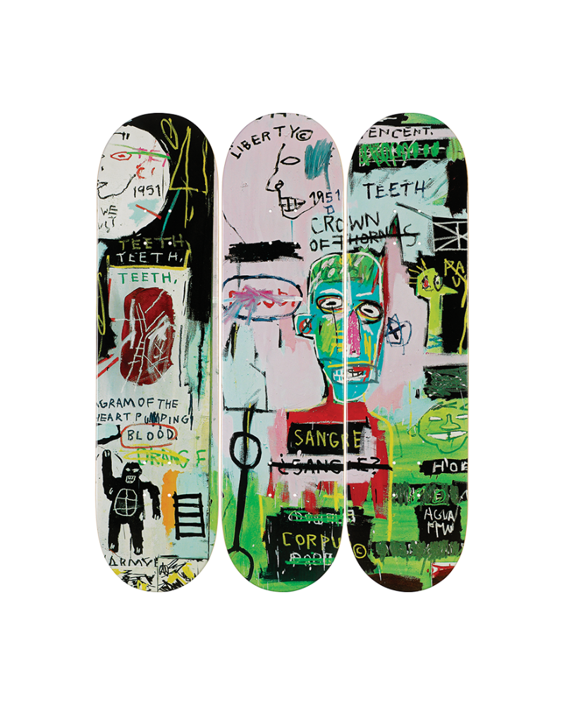 Jean-Michel Basquiat's - in italian