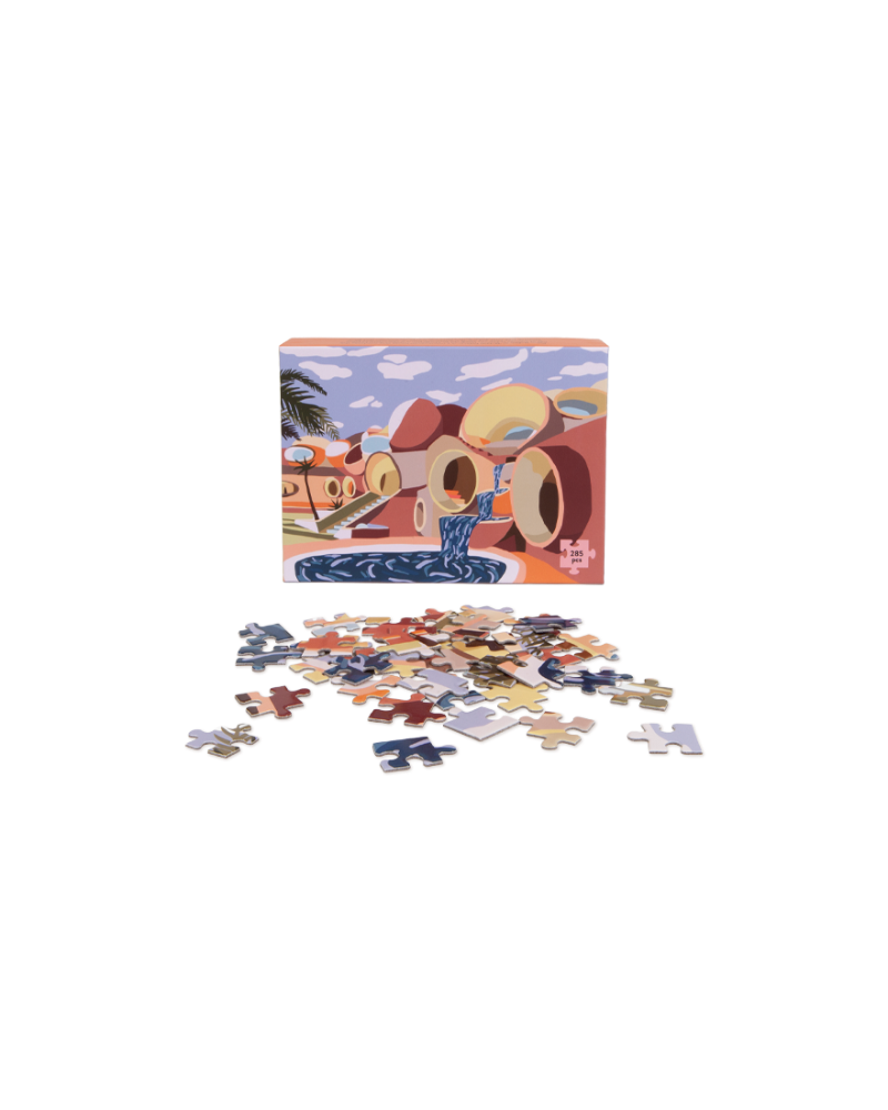 Palais Bulles Puzzle, Charlie Bennell